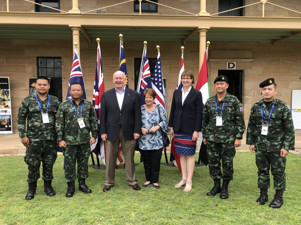 AUS Embassy 2018] The Royal Thai Army successfully competes